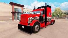 Die Wicked Skull skin für den truck-Peterbilt 38