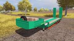 Aguas-Tenias lowboy v3.0 pour Farming Simulator 2013