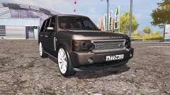 Land Rover Range Rover Supercharged (L322) v2.0 pour Farming Simulator 2013