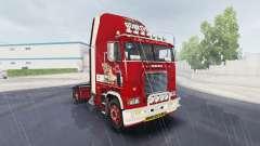 Haut Kleine Miss auf LKW Freightliner FLB