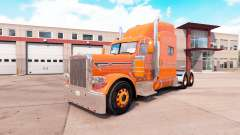 La peau d'Orange pour le camion Peterbilt 389 v1