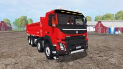 Volvo FMX 500 carrier