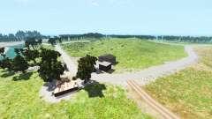 Hillside highway v1.2 pour BeamNG Drive