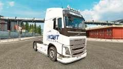 La peau Ekont Express chez Volvo trucks
