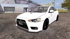 Mitsubishi Lancer Evolution X für Farming Simulator 2013