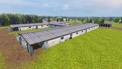 Ukrainien d'une ferme collective pour Farming Simulator 2013