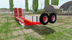 DOLL panther lowboy pour Farming Simulator 2017