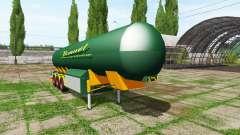 Manure trailer