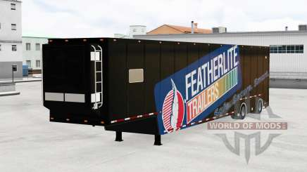 Featherlite semitrailer v1.3 pour American Truck Simulator