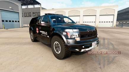 Ford F-150 SVT Raptor v2.2.1 pour American Truck Simulator