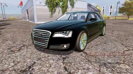 Audi A8 quattro (D4) pour Farming Simulator 2013