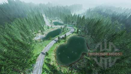 Rally forest v1.5 pour BeamNG Drive