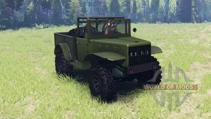 Dodge M37 1941 pour Spin Tires
