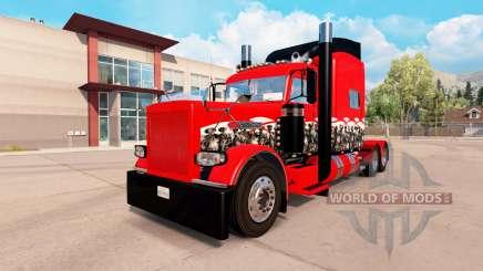 Les Méchants Crâne de la peau pour le camion Peterbilt 389 pour American Truck Simulator