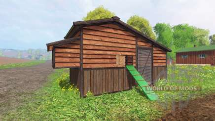 Chicken coop v2.0 pour Farming Simulator 2015