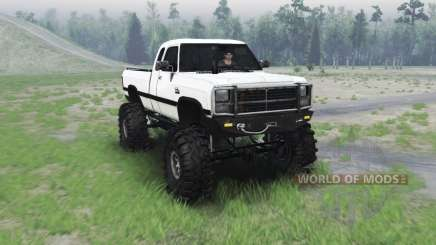 Dodge Power Ram 250 1991 pour Spin Tires