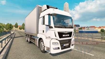MAN TGS 18.540 Tandem pour Euro Truck Simulator 2