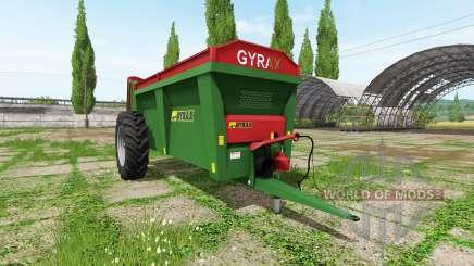 Gyrax EBMX 155 für Farming Simulator 2017
