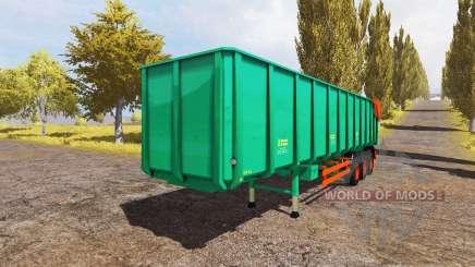 Aguas-Tenias semitrailer v2.0 pour Farming Simulator 2013