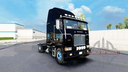 Скин Road Ranger Remorquage на Freightliner FLAG pour American Truck Simulator