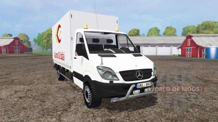 Mercedes-Benz Sprinter 316 NGT (Br.906) für Farming Simulator 2015