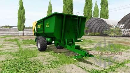 ZDT NS 8 pour Farming Simulator 2017