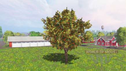 Fruit and berry trees v0.9 pour Farming Simulator 2015