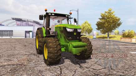 John Deere 6170R v2.0 pour Farming Simulator 2013
