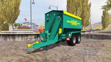 Hawe ULW 2500 T v3.0 für Farming Simulator 2013