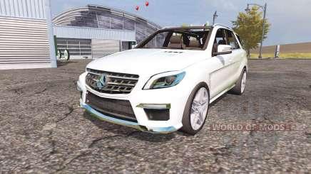 Mercedes-Benz ML 63 AMG (W166) für Farming Simulator 2013
