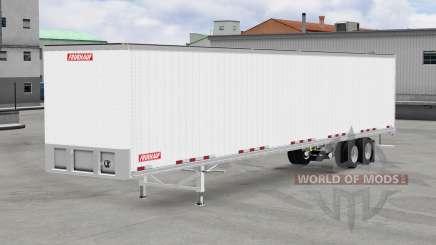 Tous métal-semi-remorque Fruehauf pour American Truck Simulator