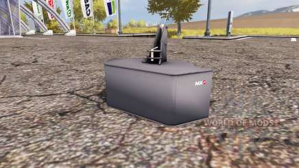 Weight MX für Farming Simulator 2013