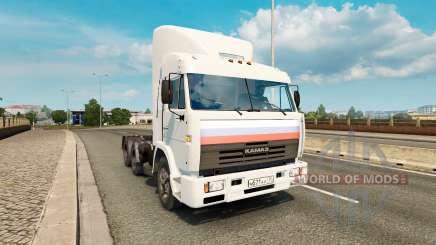 KamAZ 54115 V1.0 für Euro Truck Simulator 2