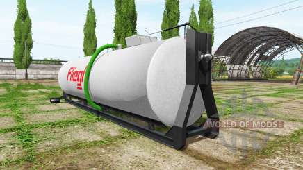 Fliegl hooklift pour Farming Simulator 2017