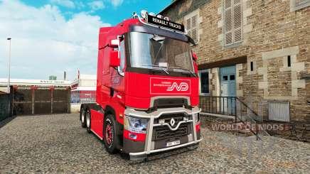 Renault T v4.3 für Euro Truck Simulator 2