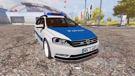 Volkswagen Passat Variant (B7) Polizei für Farming Simulator 2013