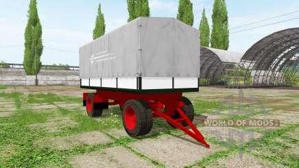 Tilt trailer pour Farming Simulator 2017