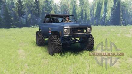 Chevrolet K5 Blazer crawler v2.0 pour Spin Tires