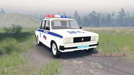 Lada VAZ 2105 DPS pour Spin Tires