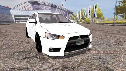 Mitsubishi Lancer Evolution X v2.0 für Farming Simulator 2013