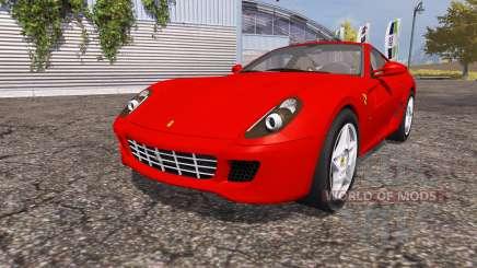 Ferrari 599 GTB Fiorano für Farming Simulator 2013