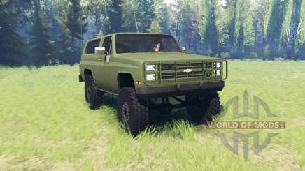 Chevrolet K5 Blazer M1009 pour Spin Tires