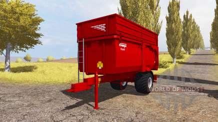 Krampe Big Body 600 E pour Farming Simulator 2013