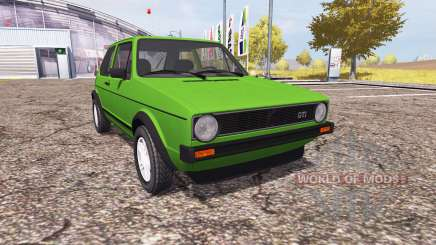 Volkswagen Golf GTI (Typ 19) 1976 pour Farming Simulator 2013