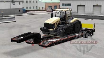 Bas de balayage avec les marchandises v3.0 pour American Truck Simulator