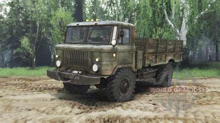 GAZ-66 v1.5 für Spin Tires