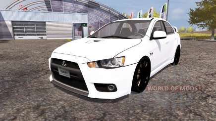 Mitsubishi Lancer Evolution X für Farming Simulator 2013