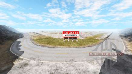 Test area v1.0.2 pour BeamNG Drive