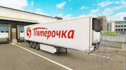 Extrime trailers pack v1.5 pour Euro Truck Simulator 2