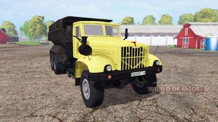 Kraz 256Б1 pour Farming Simulator 2015